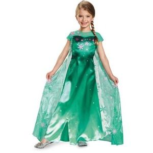 Disney Store Elsa Frozen Fever Costume